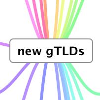 Infografik für neue Domainendungen