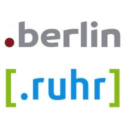 Preise und Termine für .berlin, .ruhr und 12 weitere neue Domain-Endungen