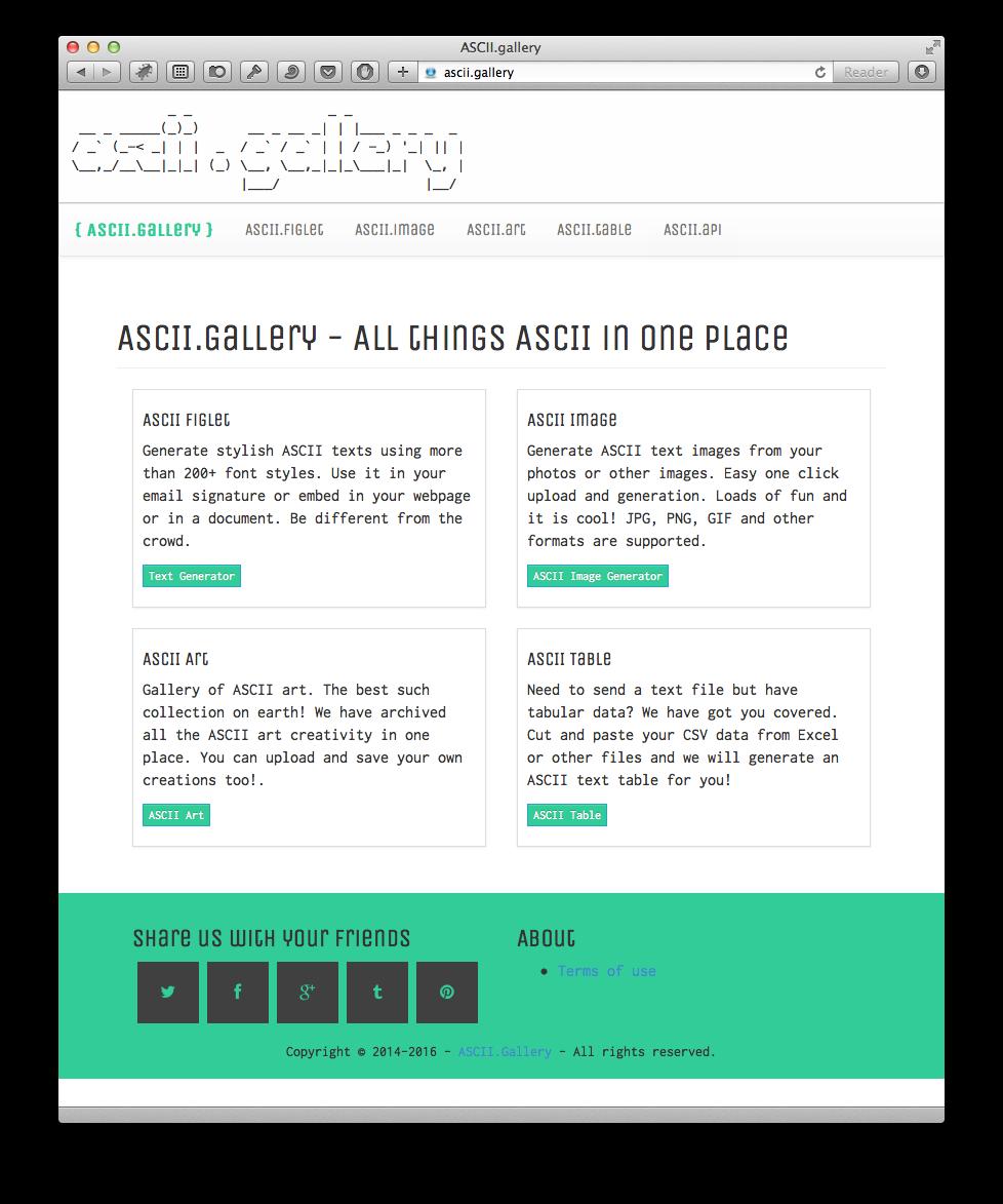 ascii.gallery