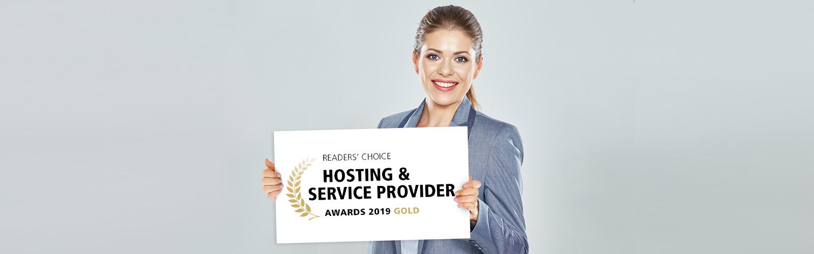Hosting Award 2019 für united-domains