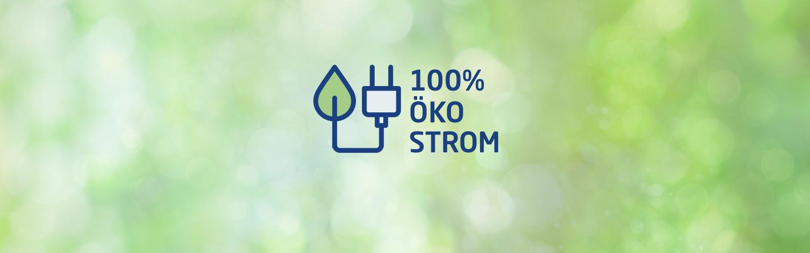 100 % Ökostrom