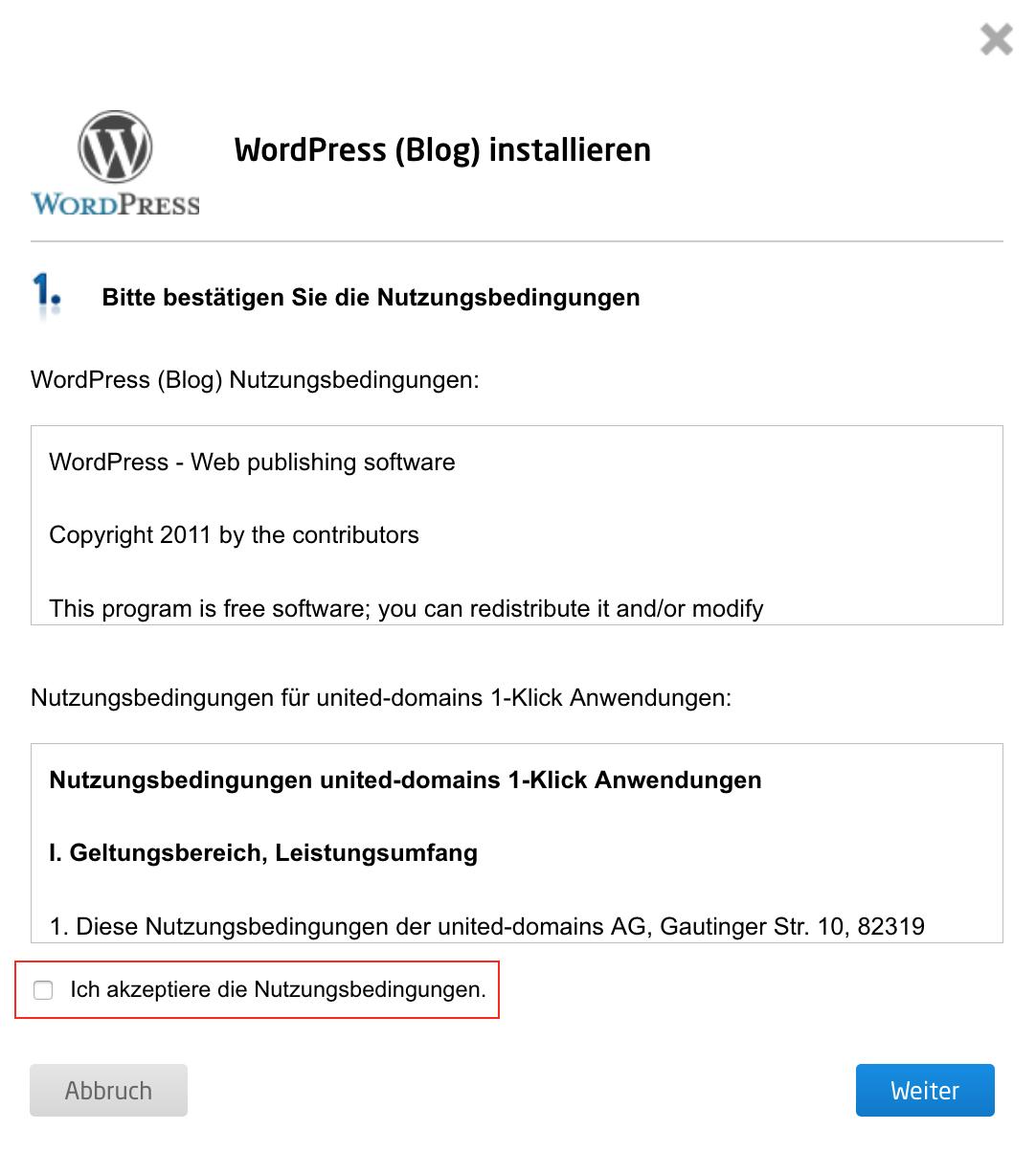 Wie installiere ich WordPress auf meinem Webspace? | united ...