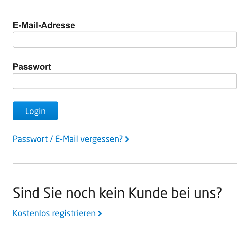 Meine E Mail Adresse Lautet wie kann ich mein passwort oder meine e mail adresse ändern