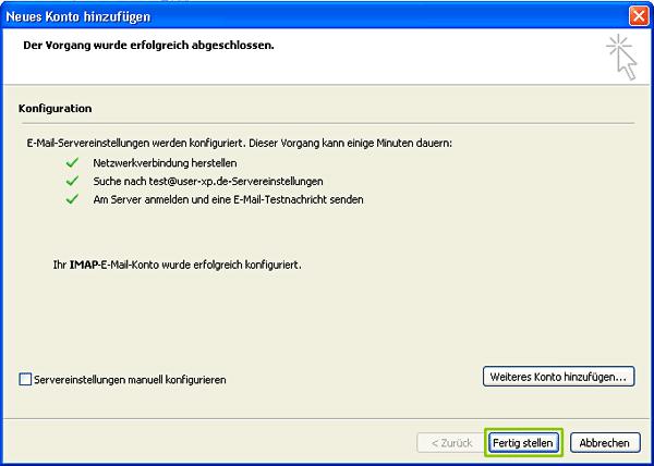 autoconfig_fertig